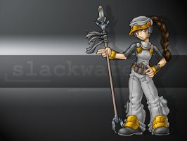Linux-tan fanart: Slackware by juzo-kun