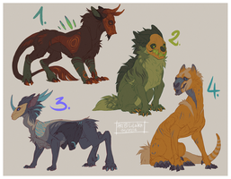 Adoptables to help moimoi by LiLaiRa