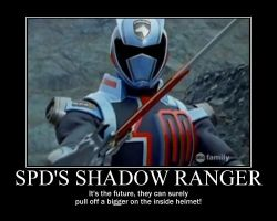Motivation - SPD's Shadow Ranger by Songue