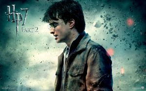 Harry Wallpaper Hp7 Part 2 by HarryPotter645