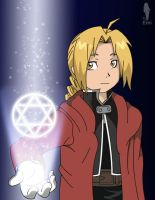 Full Metal Alchemist - Ed by WaterJewelEmi