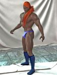 Thor With Blue Speedo And Boots by primus21