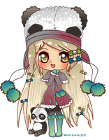 Chibi1Panda Commission by Minty-Kitty-Art