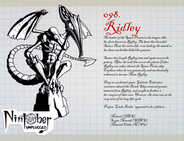 Nintober Unplugged 098 - Ridley by fryguy64