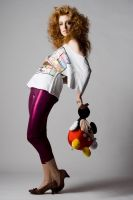 Mickey Mouse is Fashion II by Toeps