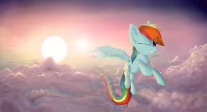 Somewhere over the rainbow by Nyan-Tortik