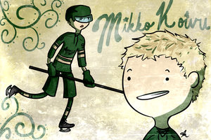 MIKKO KOIVU TIME by pantsreminder