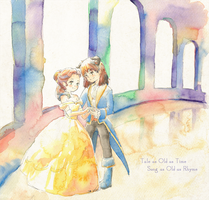 Beauty and the Beast by 4leafcolour