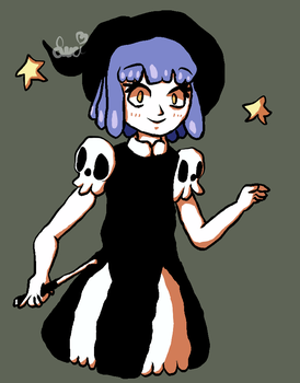 Adorable Lil' Witch by Lexyfied