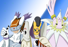 Digimon by ShadowFox777
