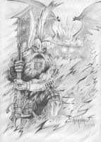 Dwarf Deamon Slayer by Taidaishar