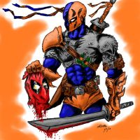 Deathstroke by Vahl0k