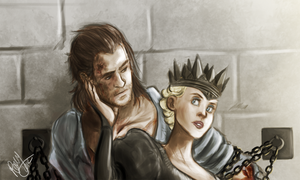 SWATH - Eric and Ravenna Close Up by Renny08