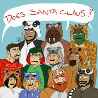 Does Santa Claus..? (somewhat W.I.P) by Toast2557