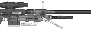 SRS99D-S2 Sniper Rifle - PMG by Silent-Valiance