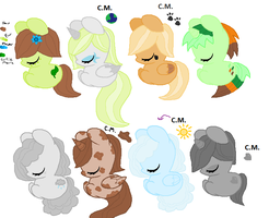 Pony Themed Adopts Theme One: Earth (*CLOSED*) by Animal-Adopts