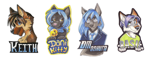 Last Batch Badges by Tigsie