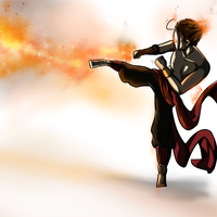 FireBender!Cry by ArtOSophie