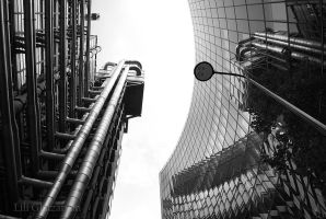 Lloyds Bank, City of London by elrray