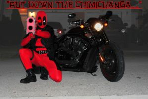 Dead or alive, that chimichanga is coming with me by Cadmus130