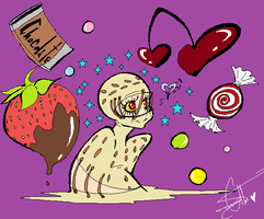 Secco in Candyland by Squidbiscuit