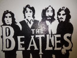 Beatles Silhouette by animedemon77