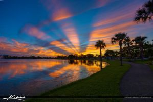 Lakeside-Challenger-Park-Sunset-in-Royal-Palm-Beac by CaptainKimo