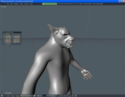 werewolf blender 2 by djsaman
