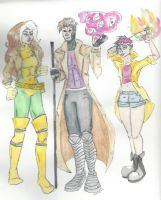 The Cool Jacket Crew by VoltaicCreations