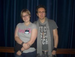 Me and Glen Sobel by Durah