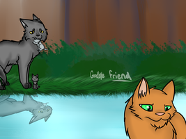 Goodbye friend ::Perfect WarriorContest Entry:: by Tess-Is-Epic