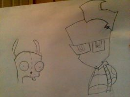Zim and Gir by Jubilee98
