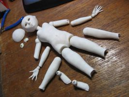 Ball joint doll in progress 2 by puimun