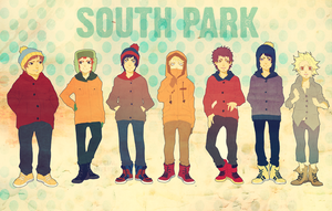 south park kids by animegirl000