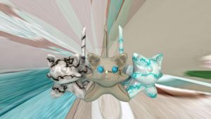Marble Cats by carnivalcat