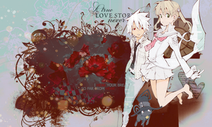 Wallpaper - True love story by ChiuHatsune