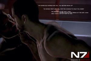 Kaidan X Male Shepard - Fight So hard by ManticoreEX