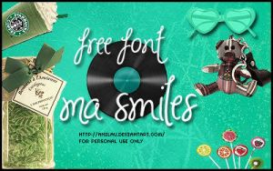 Ma Smiles Font by aNiLaU