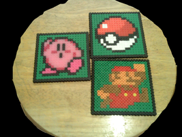 Perler Coasters by dylrocks95