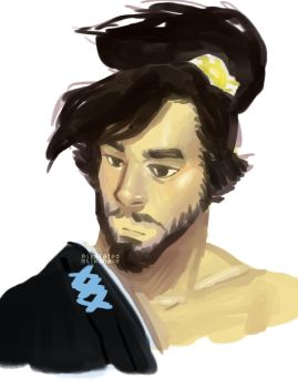 it's SUPPOSED to be hanzo by pixelatedmilkshake