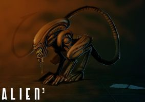 ALIEN 3 by MightyMoose