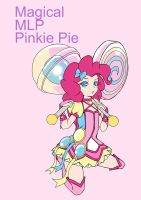 Magical mlp Pinkie Pie (Design non finish) by skyshek