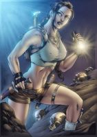 Tomb Rider colors by MARCIOABREU7