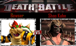 Bowser vs Shao Kahn by SonicPal