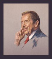 Vaclav Havel by PaulTajsl