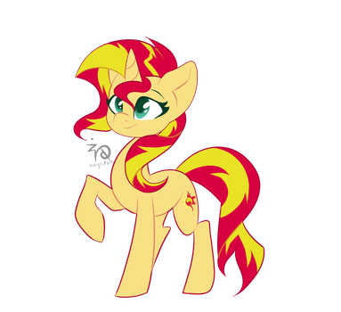 Sunset The Real Shimmer by NurynDork