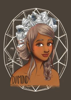 Birthstones: Diamond by StressedJenny