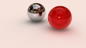 Balls reflection by voigrafic