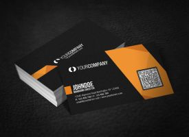 Professional QR Code Business Card by glenngoh