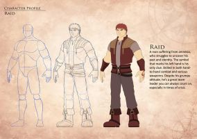 Character Profile - Raid by Koru-Xypress